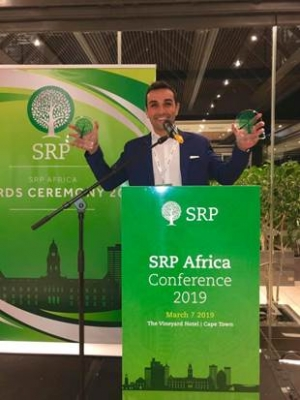 LS Advisors  awarded for the third time, two awards at the SRP conference